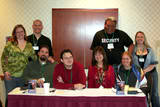 Our group at JordanCon last year. Eleyan, Valo, Marrow, Brandon, Padra, Esteban, Eniara, Seri
