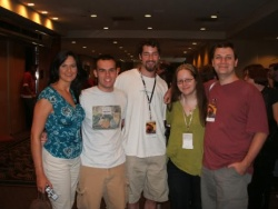 Padra, Gwyn, Defen, me and Rollyn, Dragon*Con '06