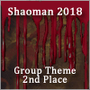 Shaoman 2018 Group Theme 2nd Place Badge.png